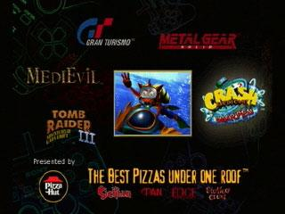 Screenshot Thumbnail / Media File 1 for Pizza Hut Pizza-Powered Demo [U] [SCUS-94292]